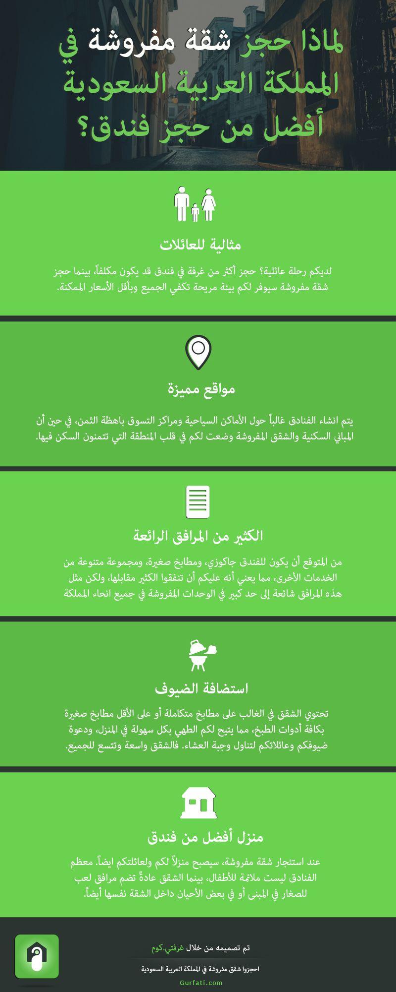 لماذا حجز شقة مفروشة في المملكة العربية السعودية أفضل من حجز فندق Hotel Travel