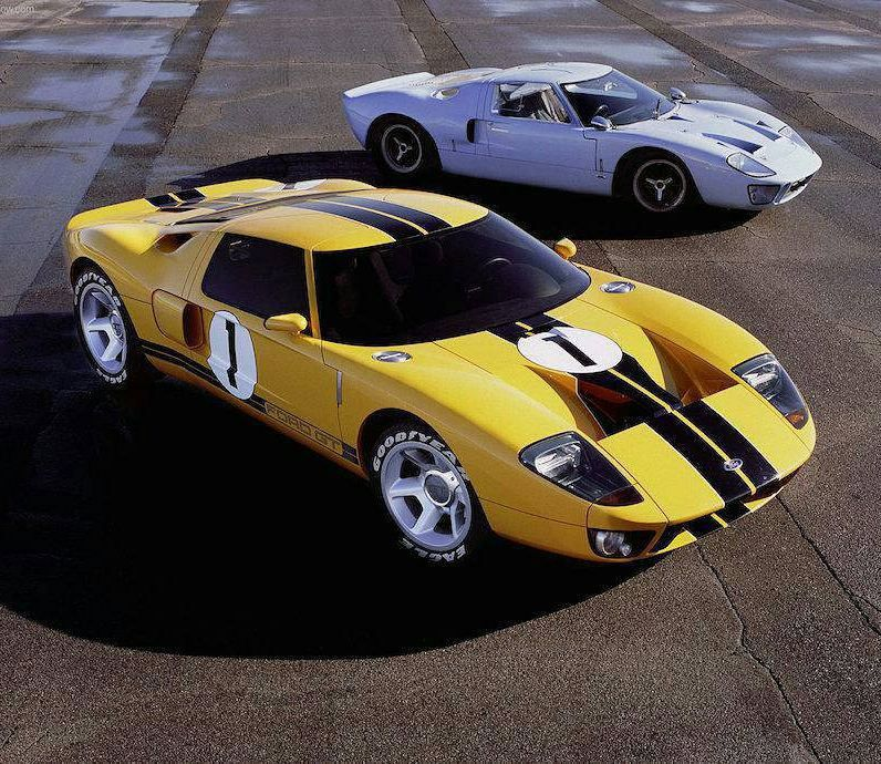 Ford Gt Fordgt Oldvsnew Fastcars Decalfx Autoshow Cars