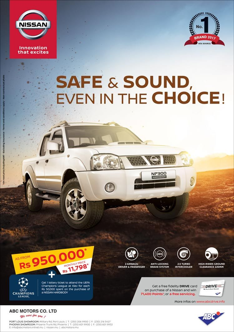 Pin By Bluefish Emarketing Mauritius On Auto Moto Nissan Nissan Hardbody Graphic Design Flyer