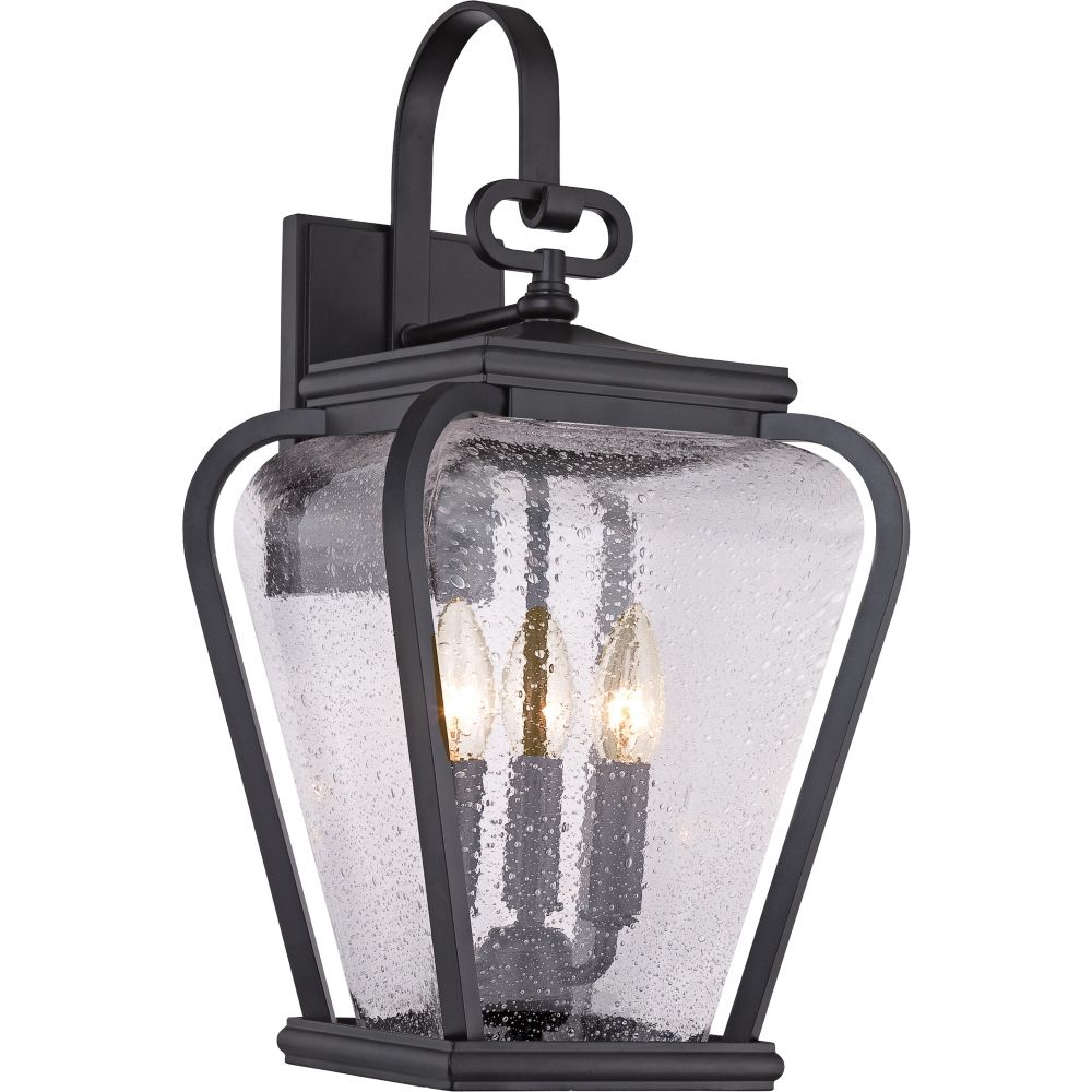 In by quoizel in norwalk ct province black outdoor lantern