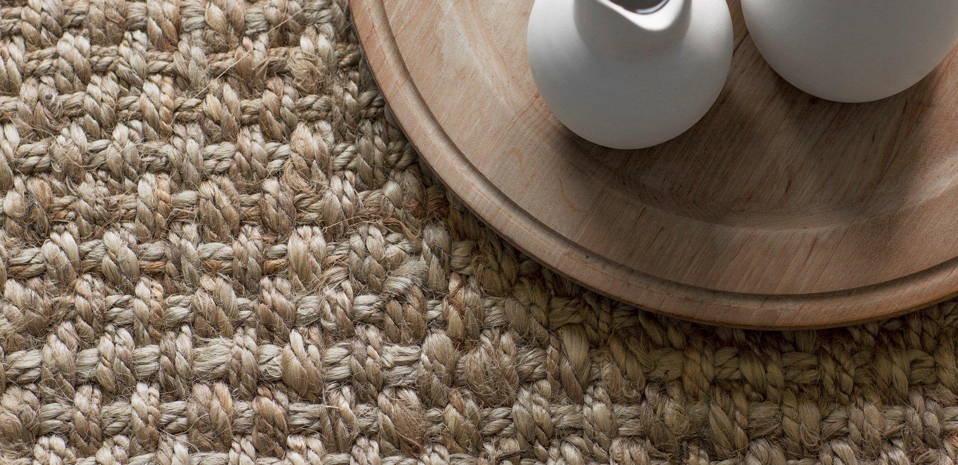Jute Flooring   Wall To Wall Jute Carpet  Naked Flooring