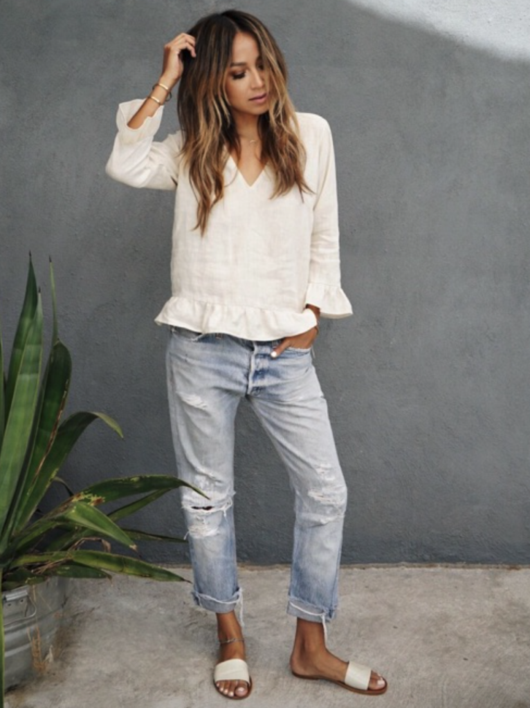 e599084c252 what to wear with straight leg jeans 50+ best outfits