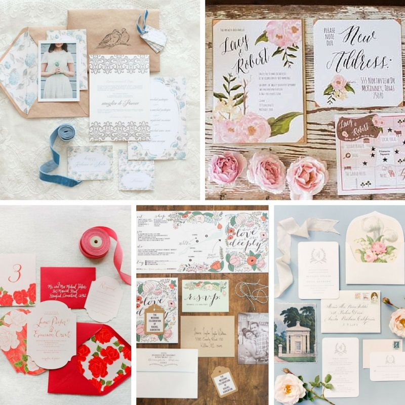 gorgeous summer rose wedding invitations - Summer Wedding Invitations