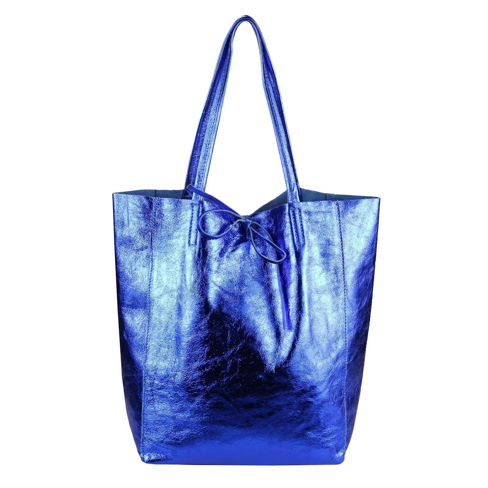 62eec21d829d0 OBC Made in Italy DAMEN LEDER TASCHE DIN-A4 Shopper Schultertasche  Henkeltasche Tote Bag
