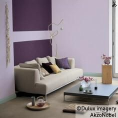 Dulux wall lilac love insert mulberry burst colours for Dulux boys bedroom ideas