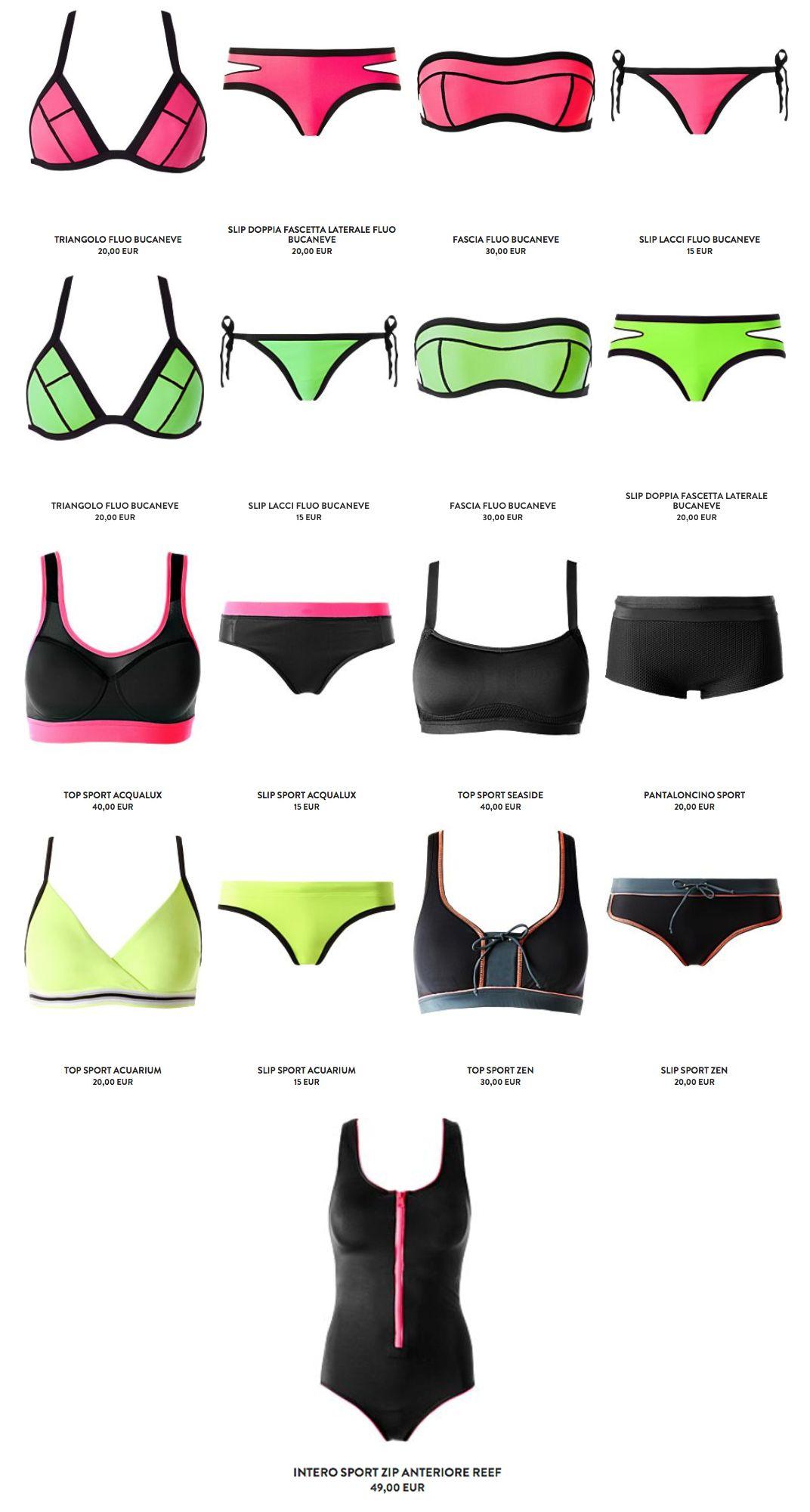 64ece1e0f042 calzedonia costumi 2016 neoprene sport | Beachwear | Costumi ...