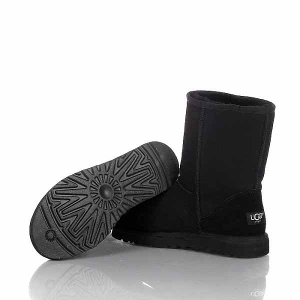all black uggs