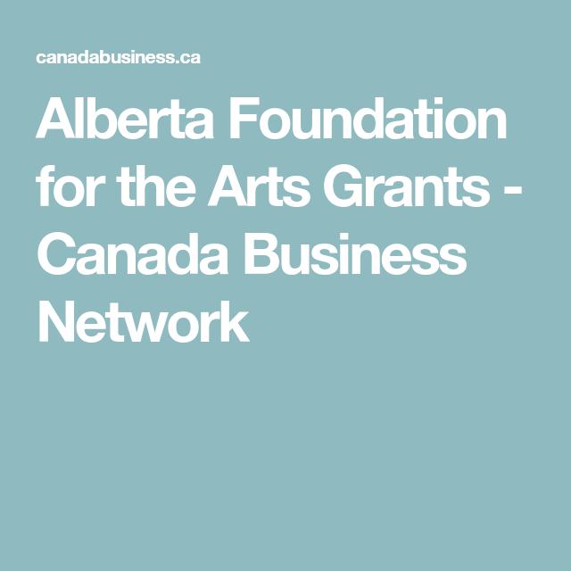 small business grants canada alberta