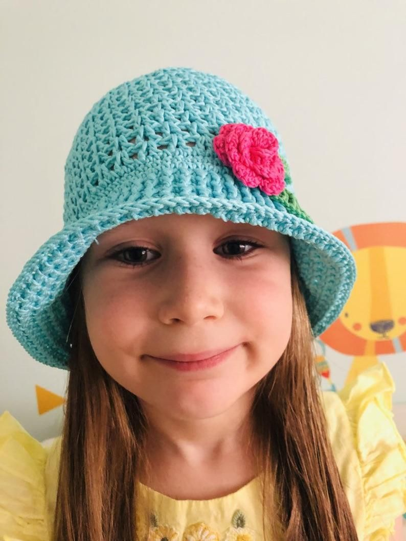 Crochet Spring Baby Cloche Easter Hat Baby Easter Hat Baby Spring Beanie Easter Cloche Girls Beanie 100/% Soft Cotton
