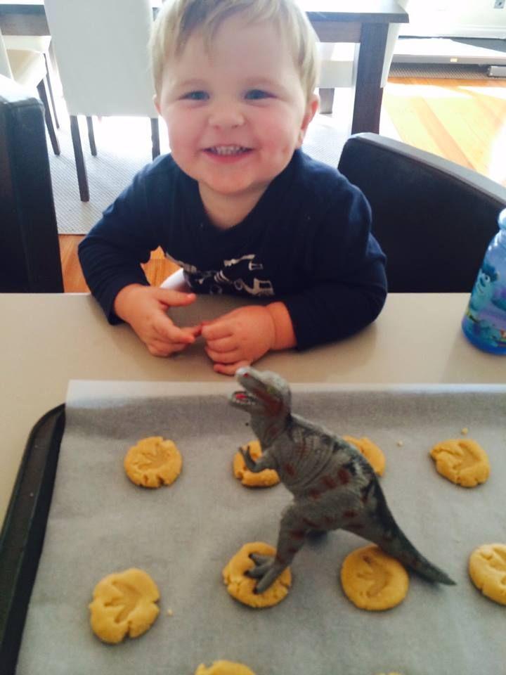 Dinosaur baking