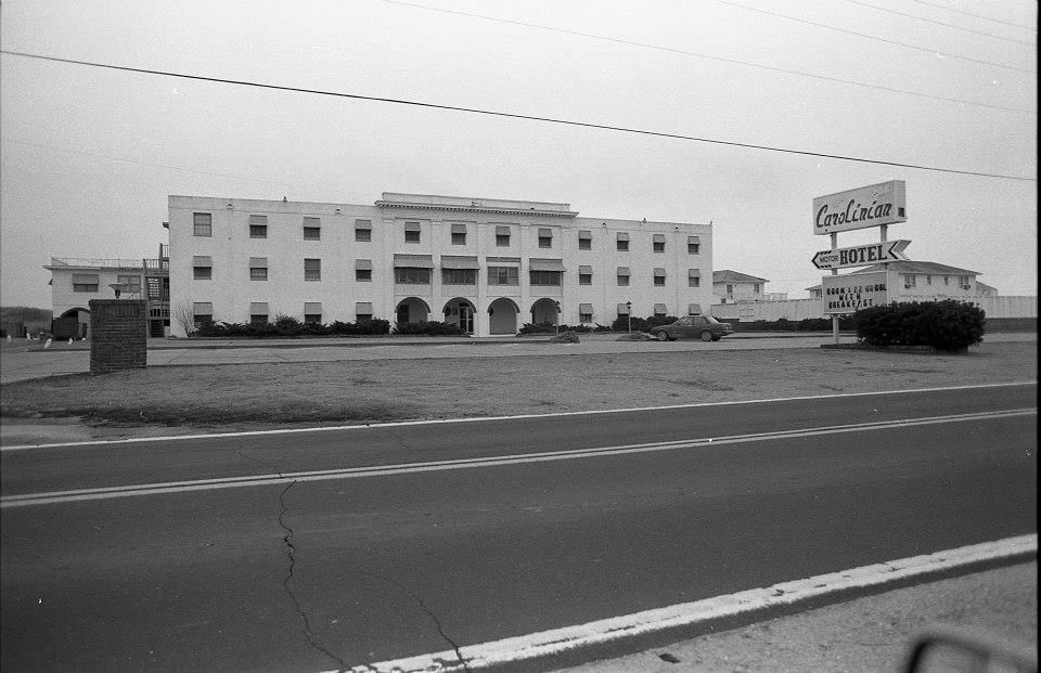 The Old Carolinian Hotel Gone But Not Forgotten Outer Banks Vacation Places To Visit Nags Head Beach