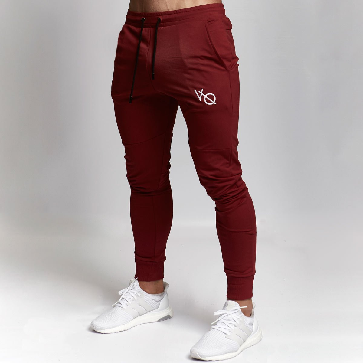 VQ Exodus Red Tapered Bottoms Fashion joggers