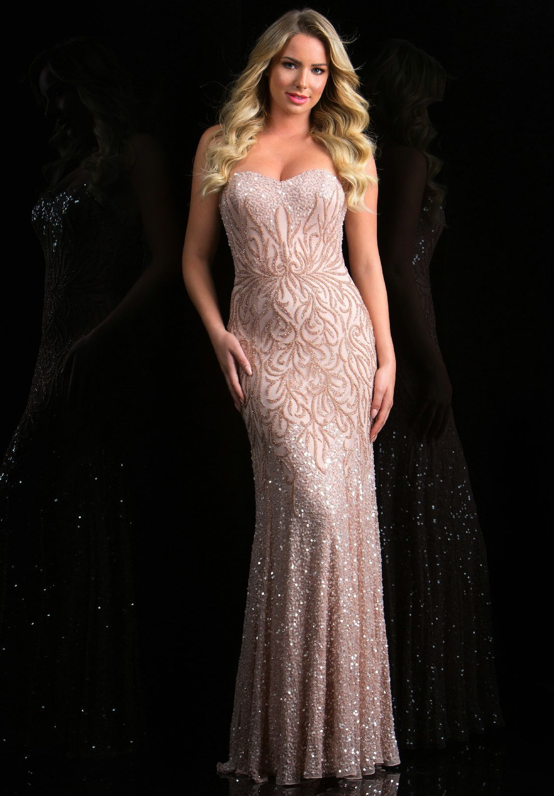 Prom Dresses Evening Dresses by SCALA<BR>asc48791<BR>Full length ...