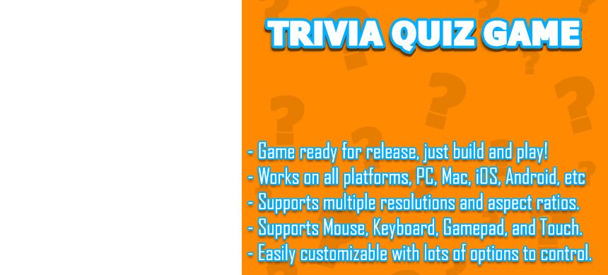 Demo Doentation Forum Trivia Quiz Is A Full Unity Template That Gives You