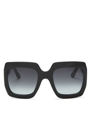 4c2e9bb73b Gucci Oversized Gradient Square Sunglasses