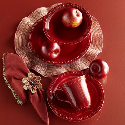 Spice Route Dinnerware - Paprika & Spice Route Paprika Dinnerware | Dinnerware and Red spice