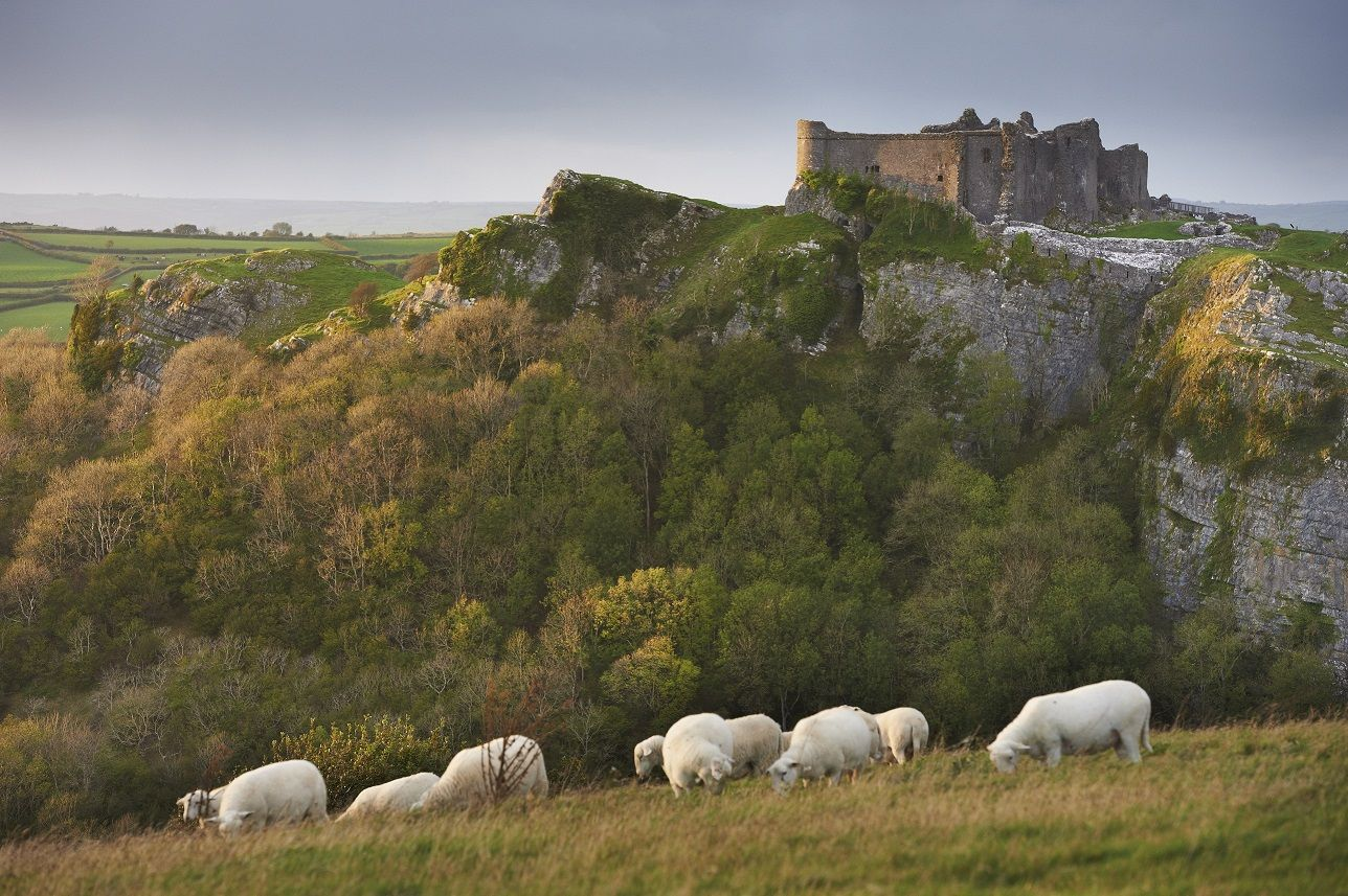Carreg Cennen Castle - Wales