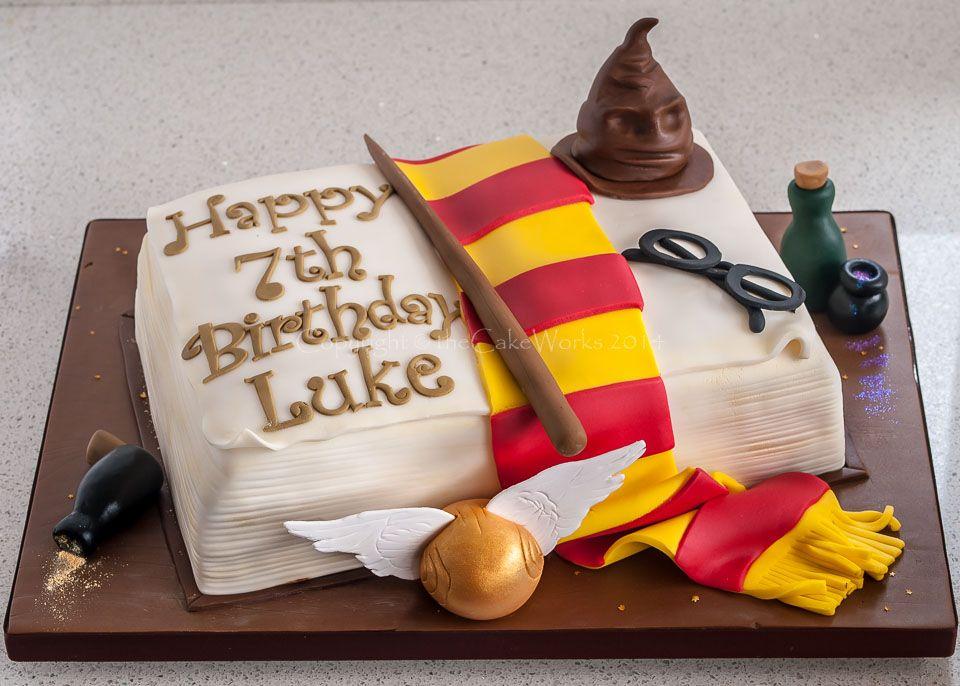 Hell yeah Harry Potter Cake Let them eat cake Pinterest
