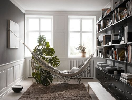 18 Indoor Hammocks To Take A Relaxing Snooze In Any Interior Design