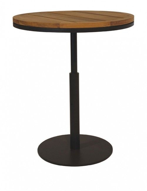 Round High Top Bar Table
