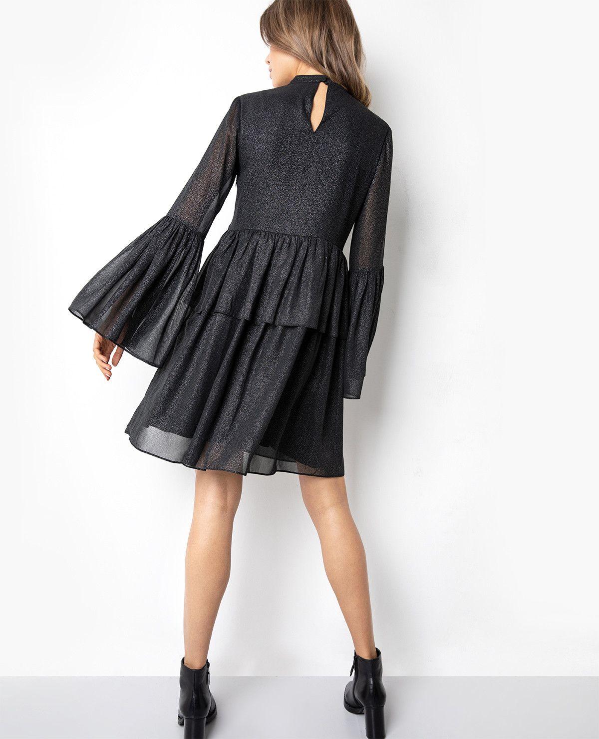 0c848a285601 Affiliate Link] Schwarzes Kleid mit Glitzer, Kourtney glitter ...