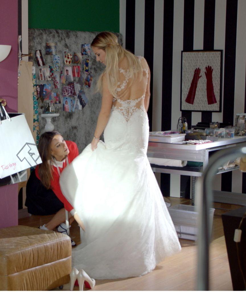 Zwei Wochen vor der GZSZ-Hochzeit - Hier probiert Sunny ihr ...