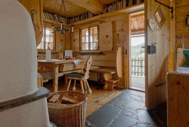 Inspiration Tür und Eingangsbereich Chalets, Living, Cosas