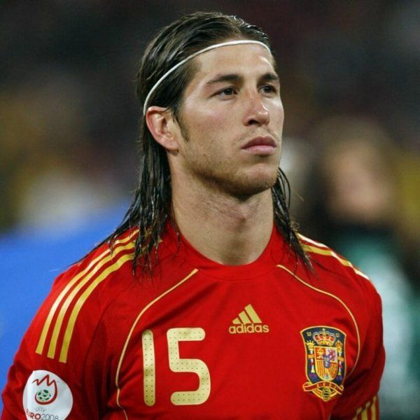 Sergio Ramos Sergio Ramos Hairstyle Ramos Haircut Curly Hair Men