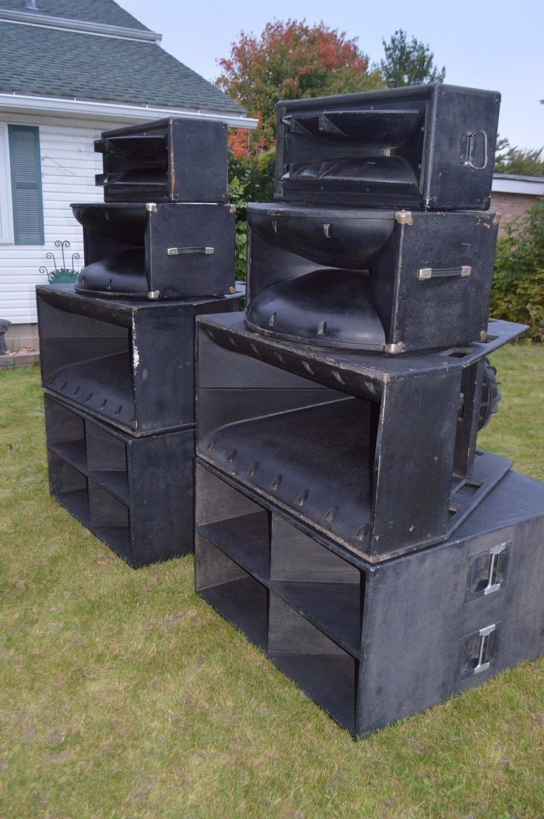 vintage peavey speakers fh 2 subwoofers mf1 x 22xt stadium. Black Bedroom Furniture Sets. Home Design Ideas