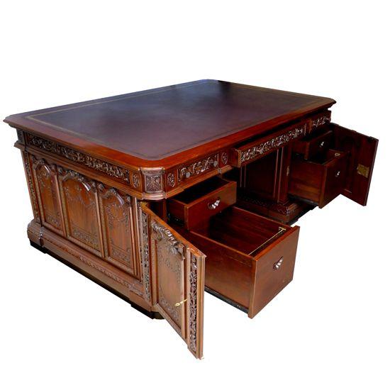 John F. Kennedy's Resolute Oval Office Desk at the John F ...
