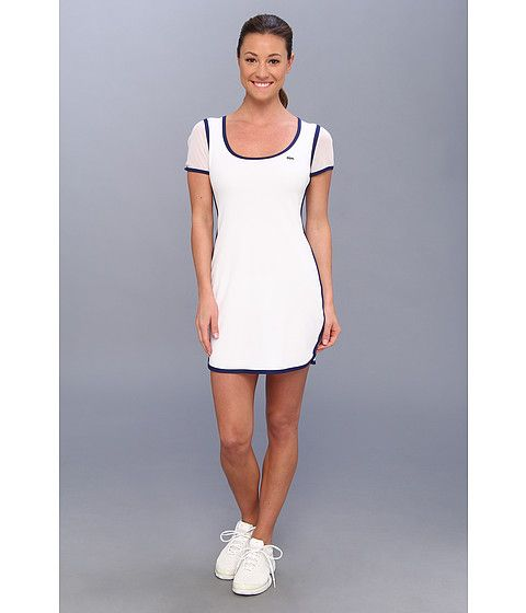Lacoste tennis dress blue and white