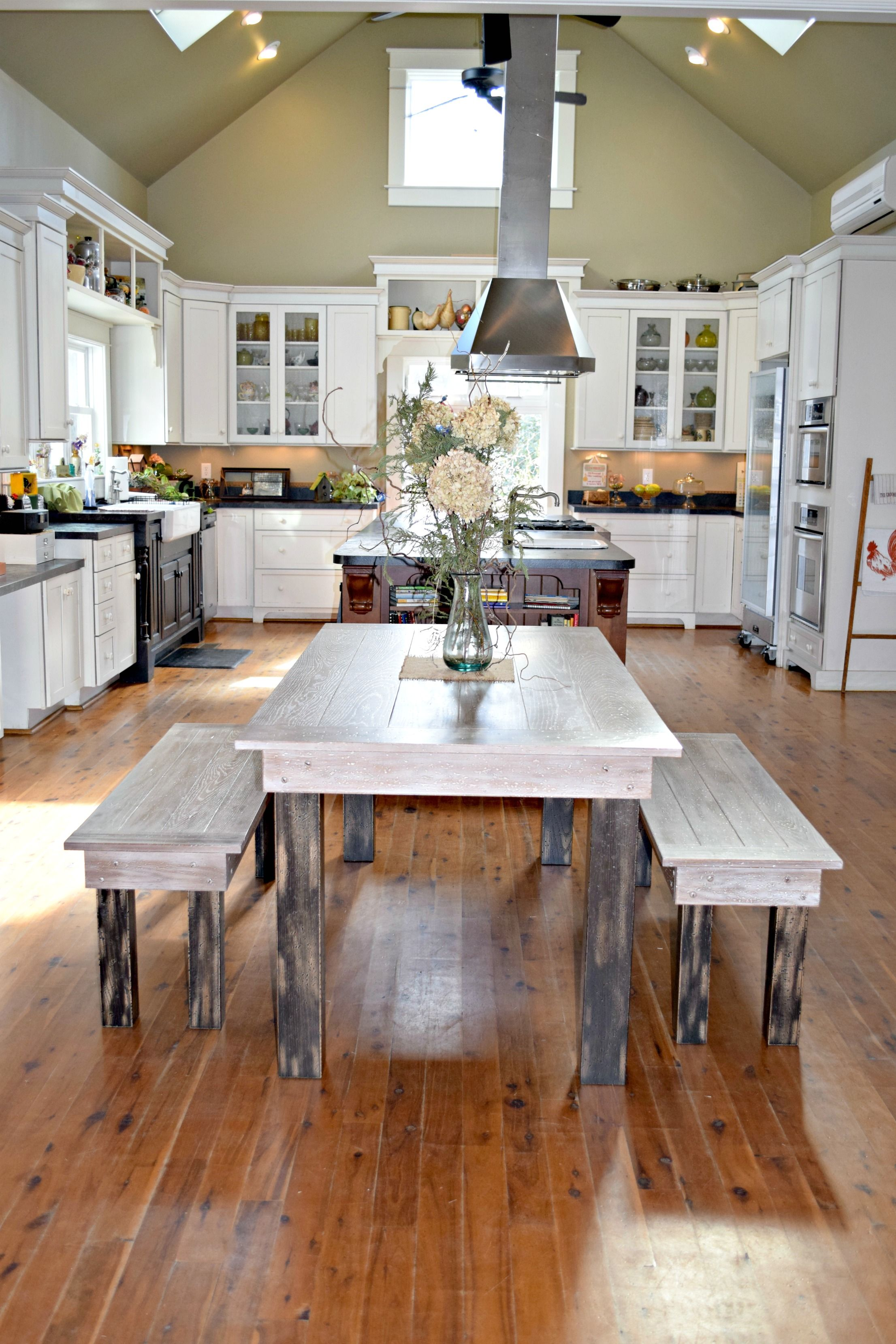Pin By Front Porch Pews On Farm Tables And Benches Home