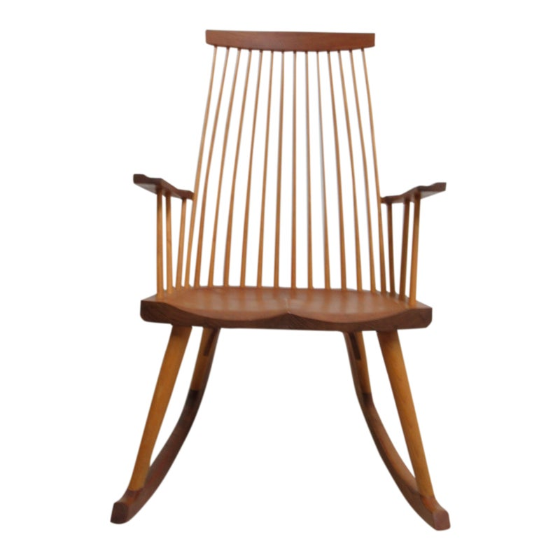 Modern Thomas Moser New Gloucester Rocker Rocking Chair Rockers Rocking Chairs Rocking Chair Chair