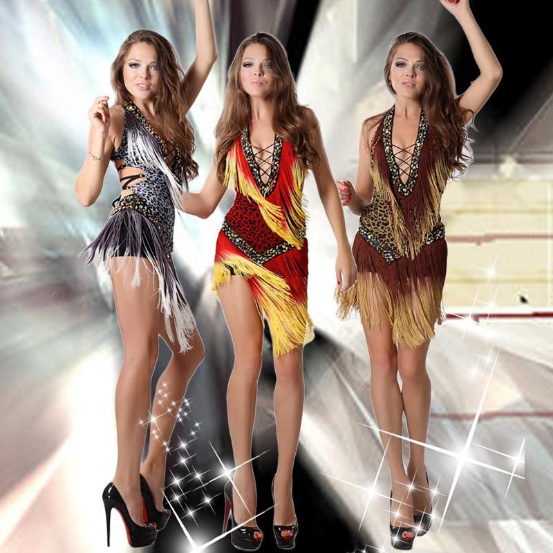 e4d870b934df Latin Dance Dress Professional Latin Dress Samba Dance Latin Salsa Dresses  Dance Costumes Clothes For Dancing Dress #l00201 Online with $31.33/Piece  on ...