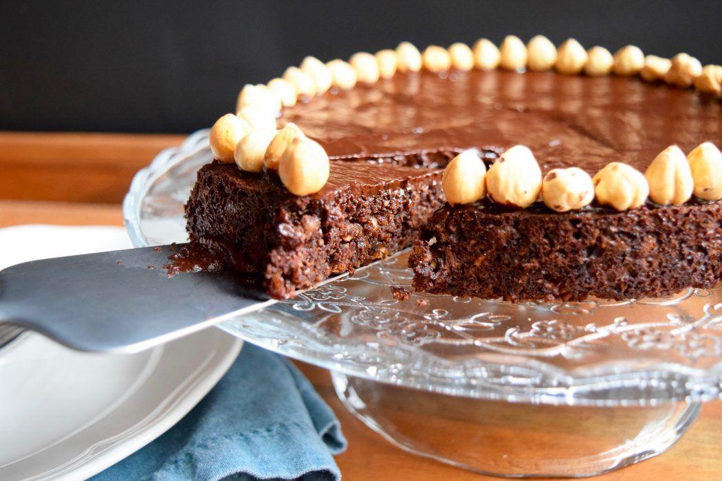 Vegan Chocolate Hazelnut Torte