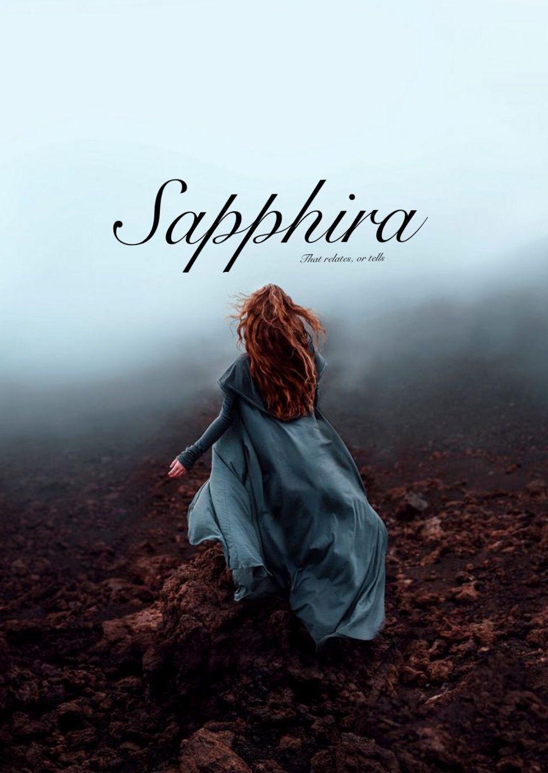 Sapphira Biblical Names Girl Baby Strong