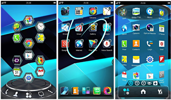 Next Launcher 3D Shell 3 22 Premium APK for Android | Places