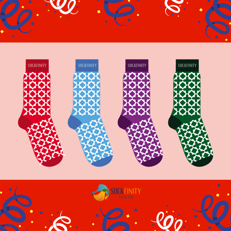This pair of socks is ideal for all the men who love and enjoy jogging. You can team it with a pair of sneakers or sports shoes to walk in style. Love this? Buy it here http://sockfinity.com/ #Socks #FashionableSocks #ElegantSocks #LoveForSocks #SockFinity #Fashion #Streetstyle #BuyIt #Shop #Colorful #Colors #happysocks #shoes #sockswag #sockgame #style