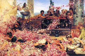 Las rosas de Heliogábalo es un cuadro del pintor holandés Lawrence Alma-Tadema.