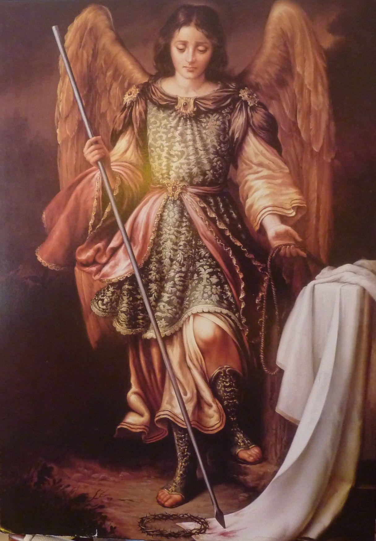 Arcangel Follando arcángel san miguel. | st raphael archangel, archangel