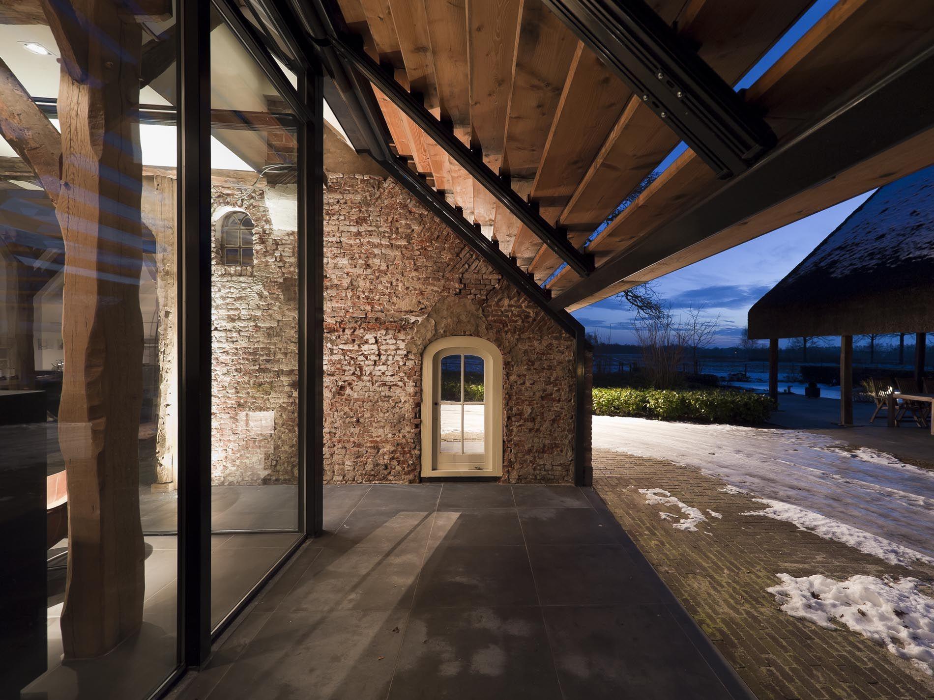 Maas architecten verbouwing boerderij tot woonhuis barchem architecture pinterest maas - Industrieel verblijf ...