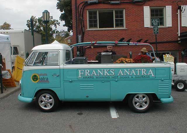 Franks Anatra Vw Hotdog Truck Vw Truck Food Truck