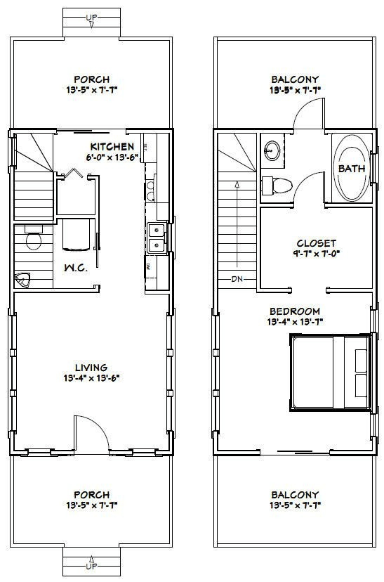 Interesting Plans For Tiny Houses 14 X 28 Shop Building Plans Shop House Plans Floor Plan Design