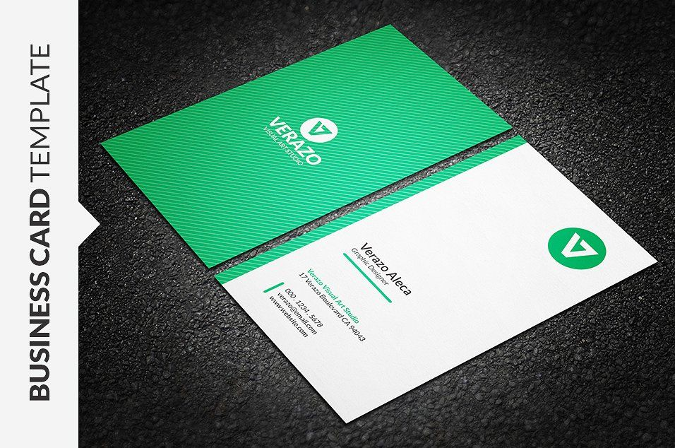 clean vertical business card  vertical business cards