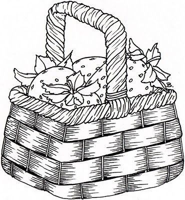 Picnic Basket Food Coloring Page Free Printable Coloring Pages Fruit Coloring Pages Food Coloring Pages Coloring Books