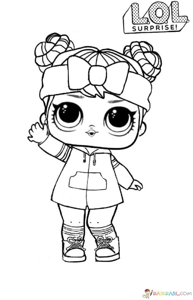 Lol Surprise Dolls Coloring Pages Print Them For Free All The Series Cute Coloring Pages Coloring Pages Cartoon Coloring Pages