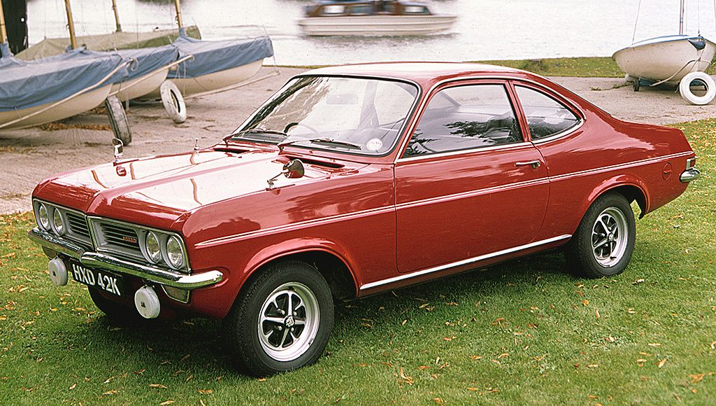 1971 Vauxhall Firenza Maintenance of old vehicles: the material for ...