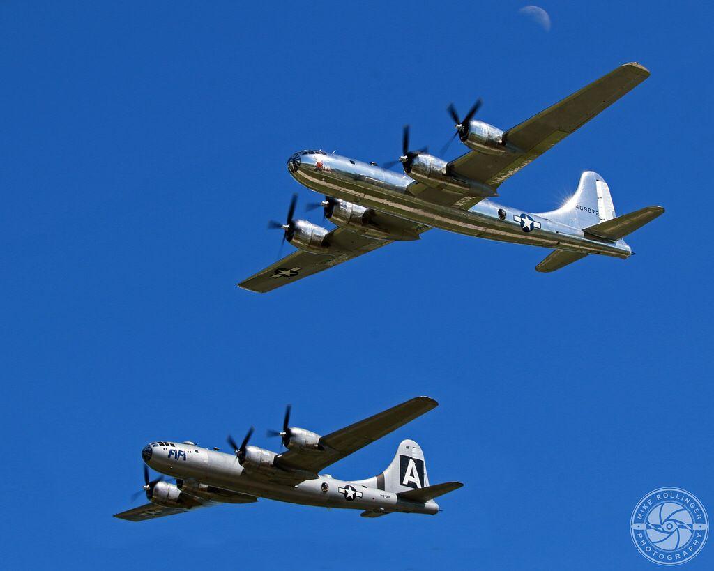B-29 Bomber 'Fifi' & 'Doc'