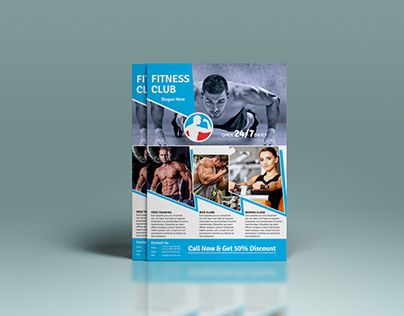 Check out new work on my @Behance portfolio  - fitness flyer