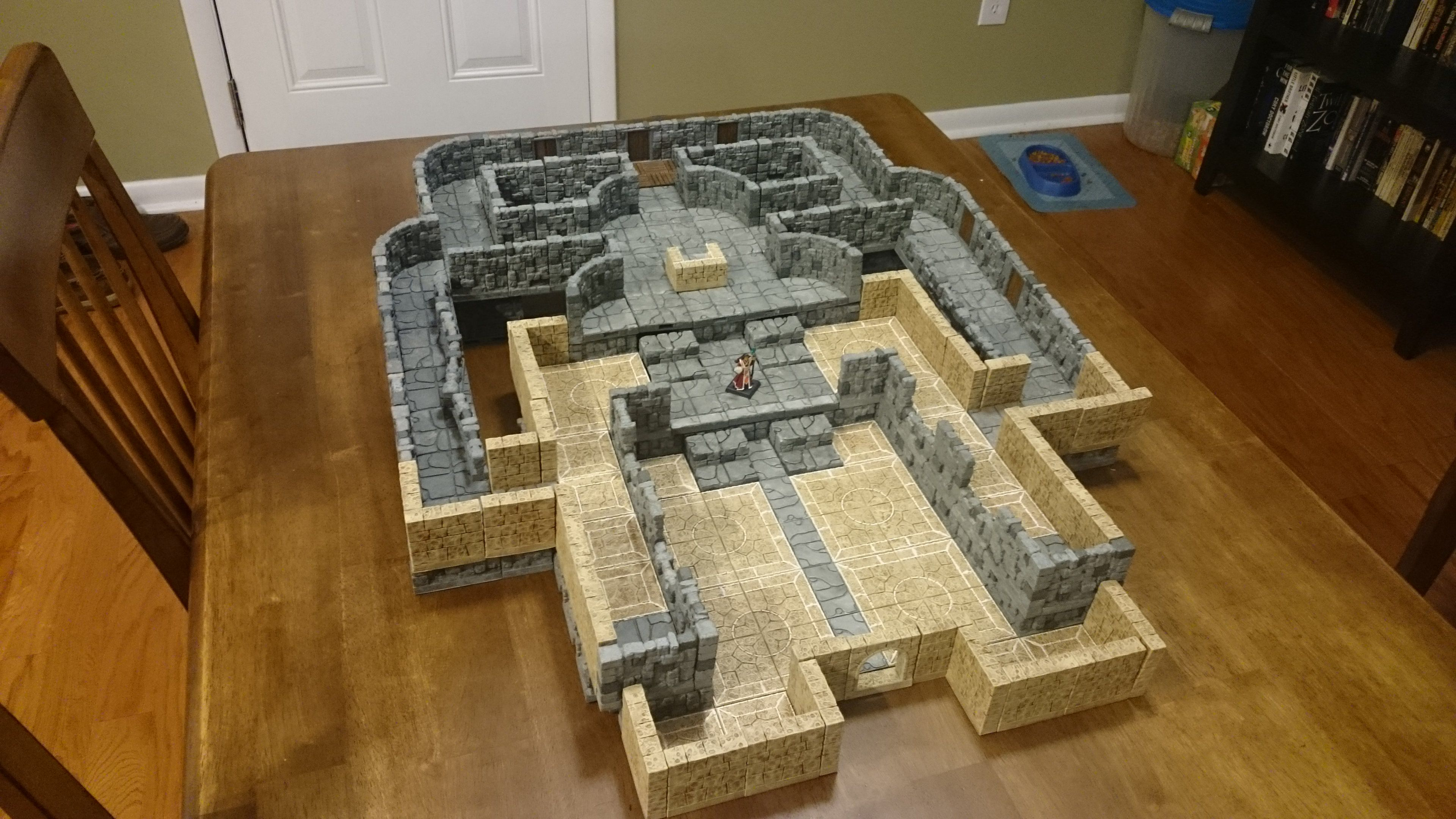 photograph about 3d Printable Dungeon Tiles named 3d revealed dungeon tiles - Google Look Terrain Dungeon